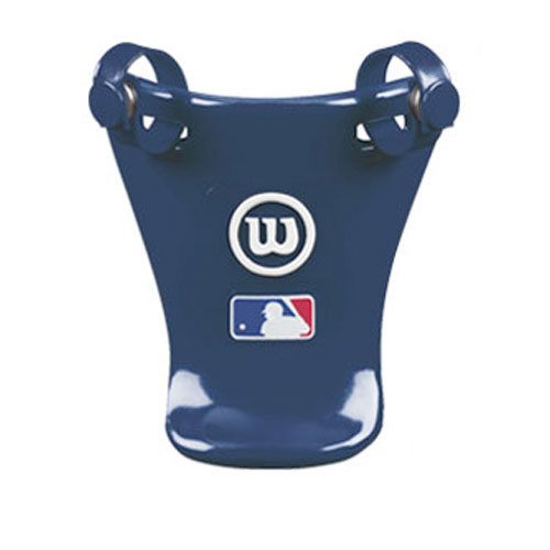 "4"" Throat Protector, Navy, swatch"