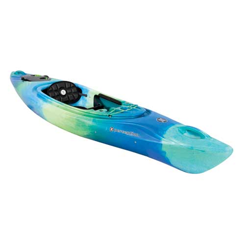 Joyride 10 Kayak, Green/Blue, swatch