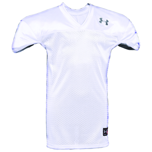 Youth Practice Football Jersey, White/Black, swatch
