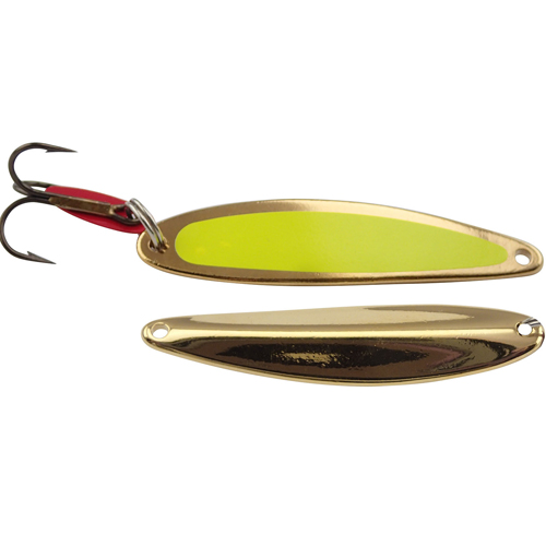Swedish Pimple Lure, Gold, Yellow, swatch