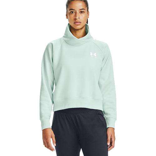 Women's Rival Fleece Wrap Neck Pullover Sweater, Lt Green,Mint,Fern,Seafom, swatch