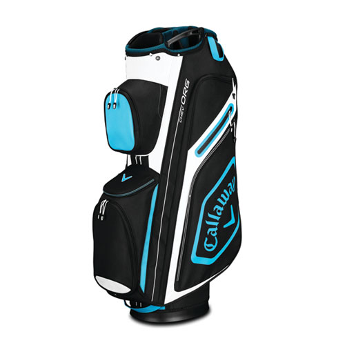 Chev Org Cart Bag, Black/Blue, swatch