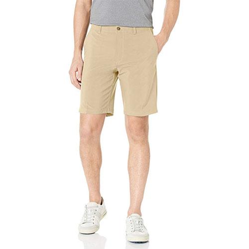 Men's Active Flex Regular-Fit Performance Golf Shorts, Tan,Beige,Fawn,Khaki, swatch