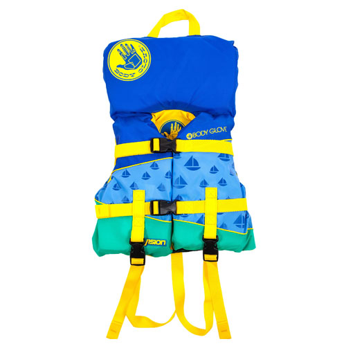 Infant Vision Vest 0-30lbs, Blue, swatch