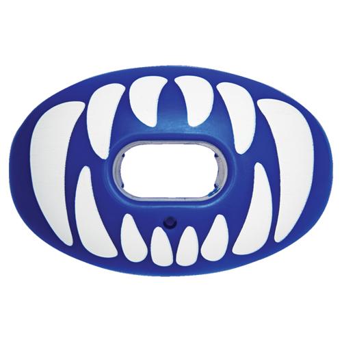 Predator Oxygen Lip Mouthguard, Blue/White, swatch