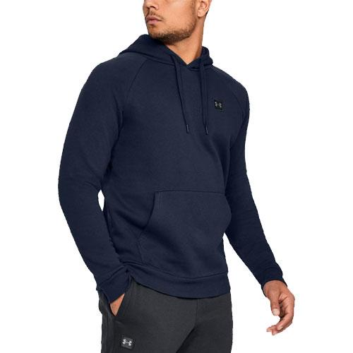Men's Rival Fleece Hoodie, Navy, swatch