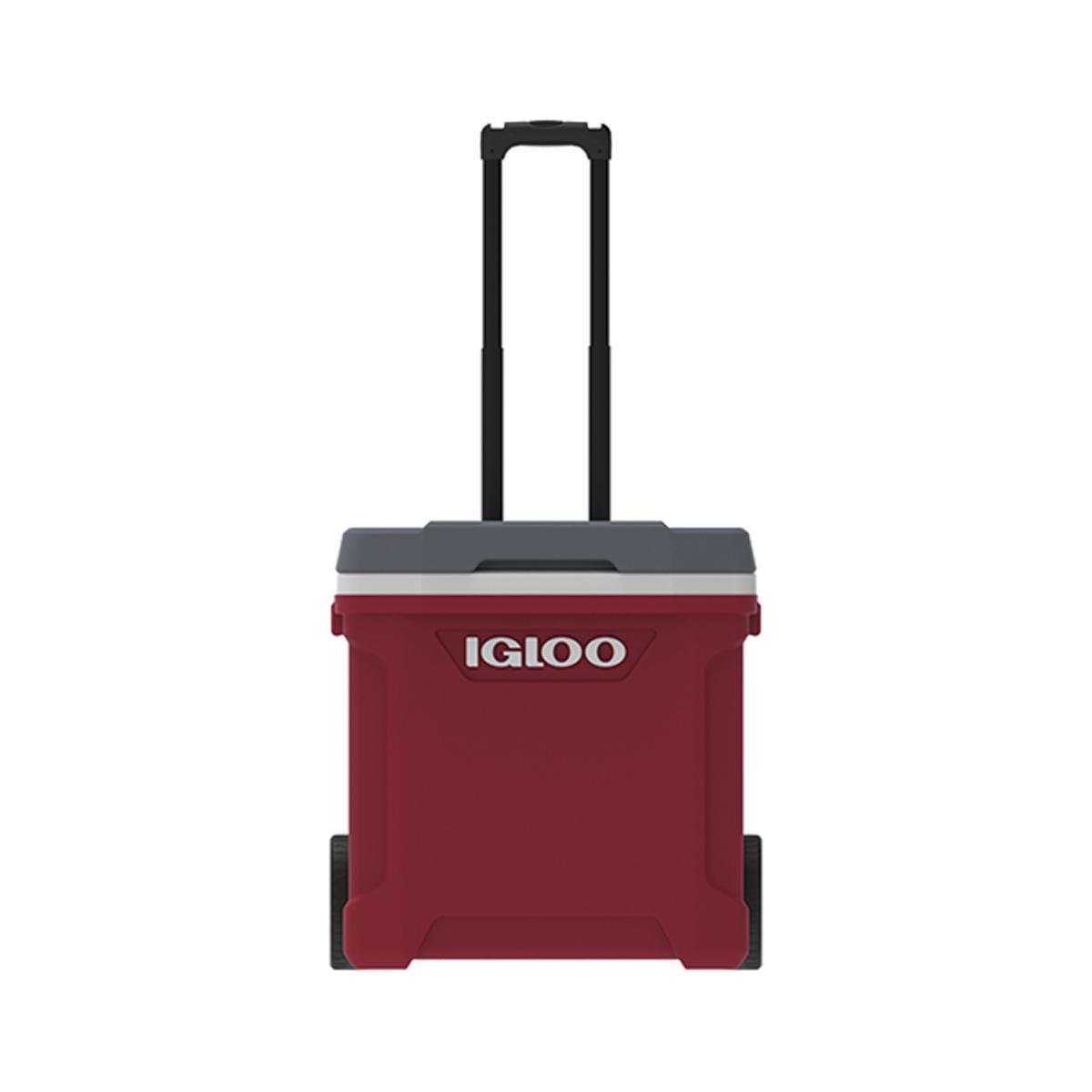 Latitude 60 Quart Roller Cooler, Red, swatch