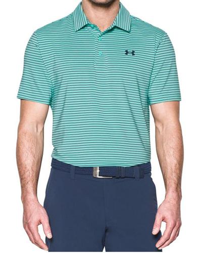 Men's Playoff Golf Polo, Lt Green,Mint,Fern,Seafom, swatch