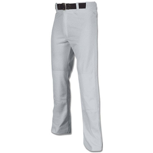 Men's MVP Piped Open Baseball Pant, Gray/Black, swatch