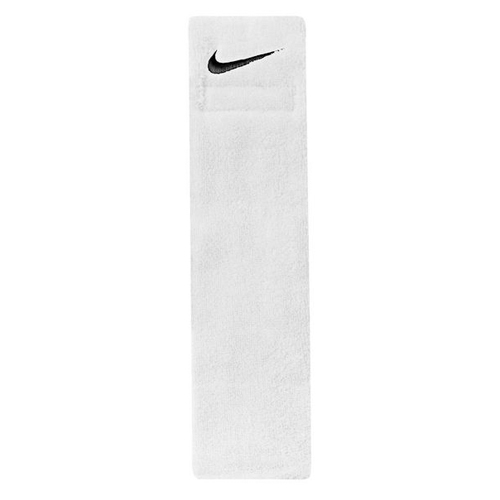 Swoosh Football Towel, White, swatch