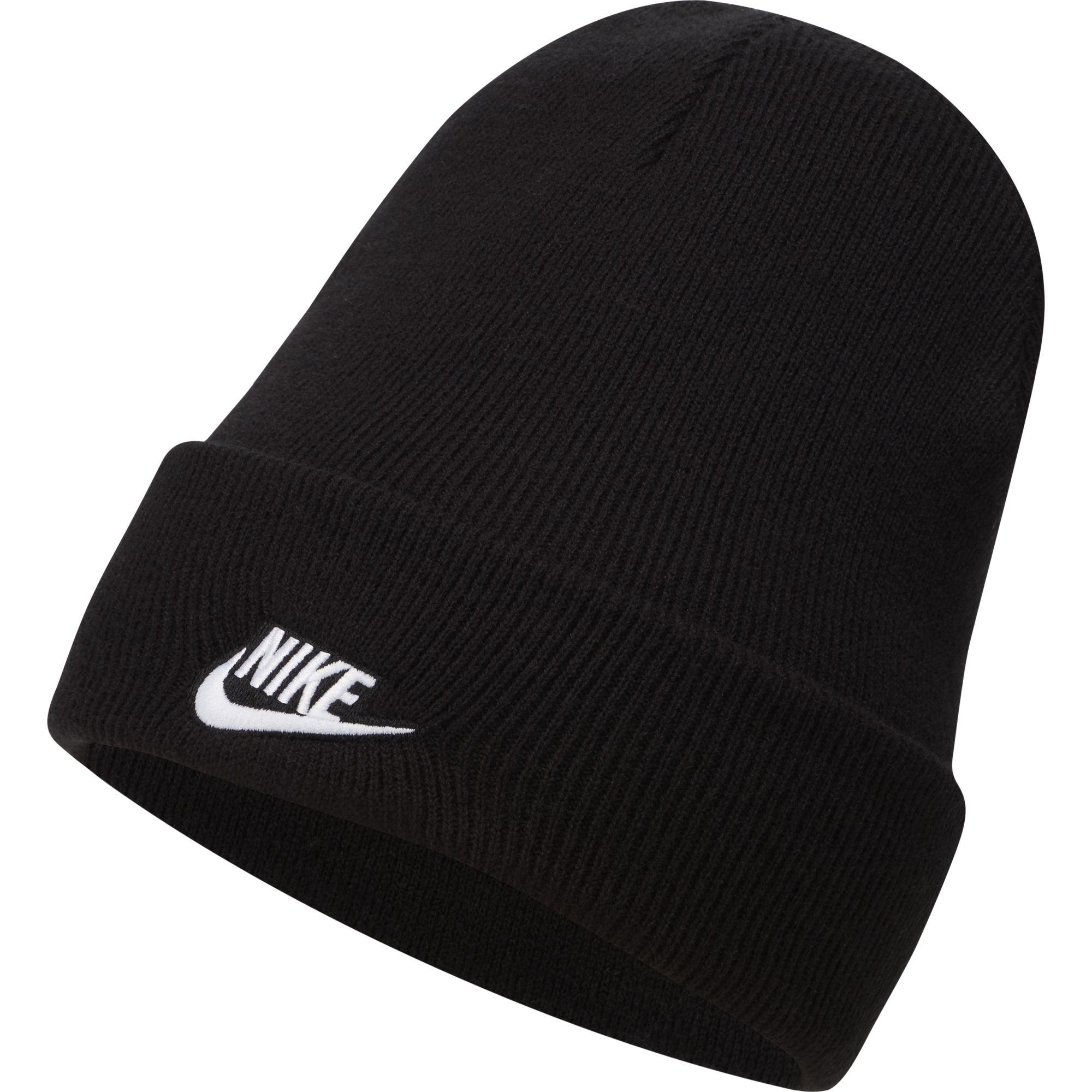 Men's Cuffed Beanie Utility Ski Hat, Black, swatch