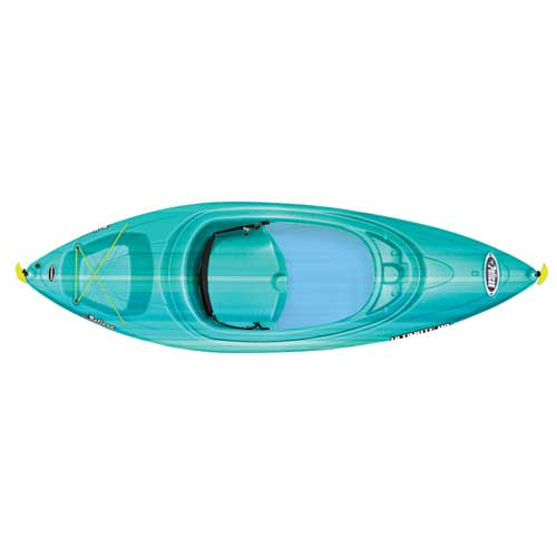 Ultimate 80X Sit-In Kayak, Turquoise,Aqua, swatch