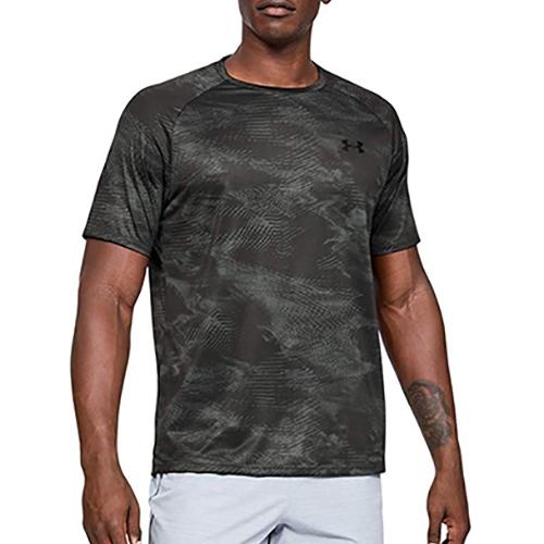 Men's Tech 2.0 Short Sleeve Printed T-Shirt, Lt Gray,Dove Gray, swatch