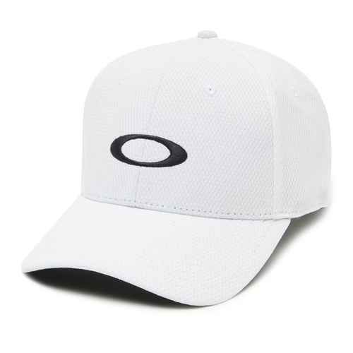 Men's Ellipse Golf Hat, White, swatch