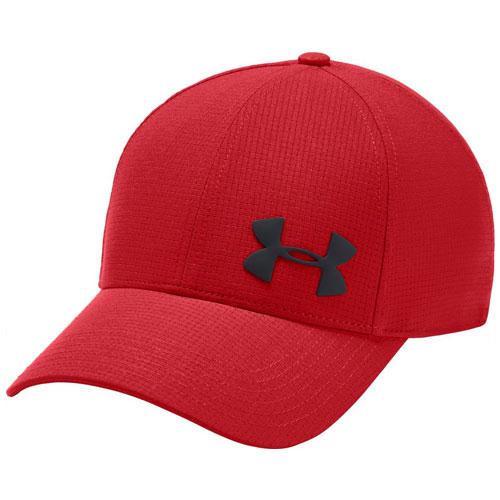 Men's Core Airvent Cap, Gray/Red, swatch