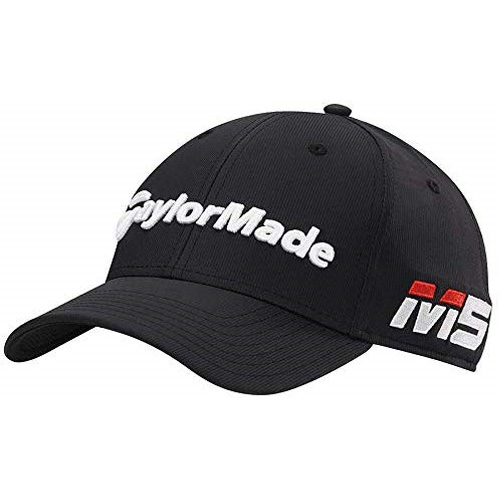 Men's Tour Radar Golf Cap, Black, swatch