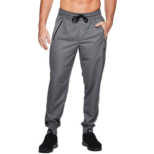 Men's French Terry Jogger, Charcoal,Smoke,Steel, swatch