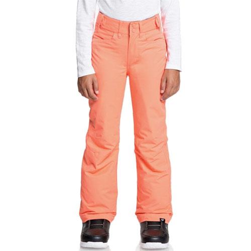 Backyard Girl's Snow Pant, Coral, swatch