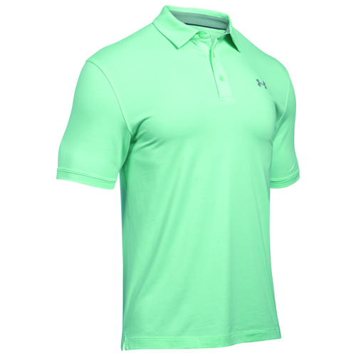 Men's Charged Cotton Scramble Polo, Green, swatch