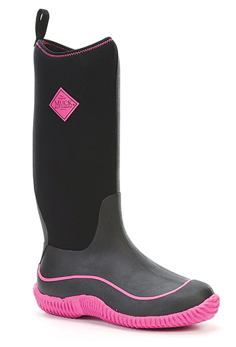 Women's Hale Solid Work Boot, Pink, swatch
