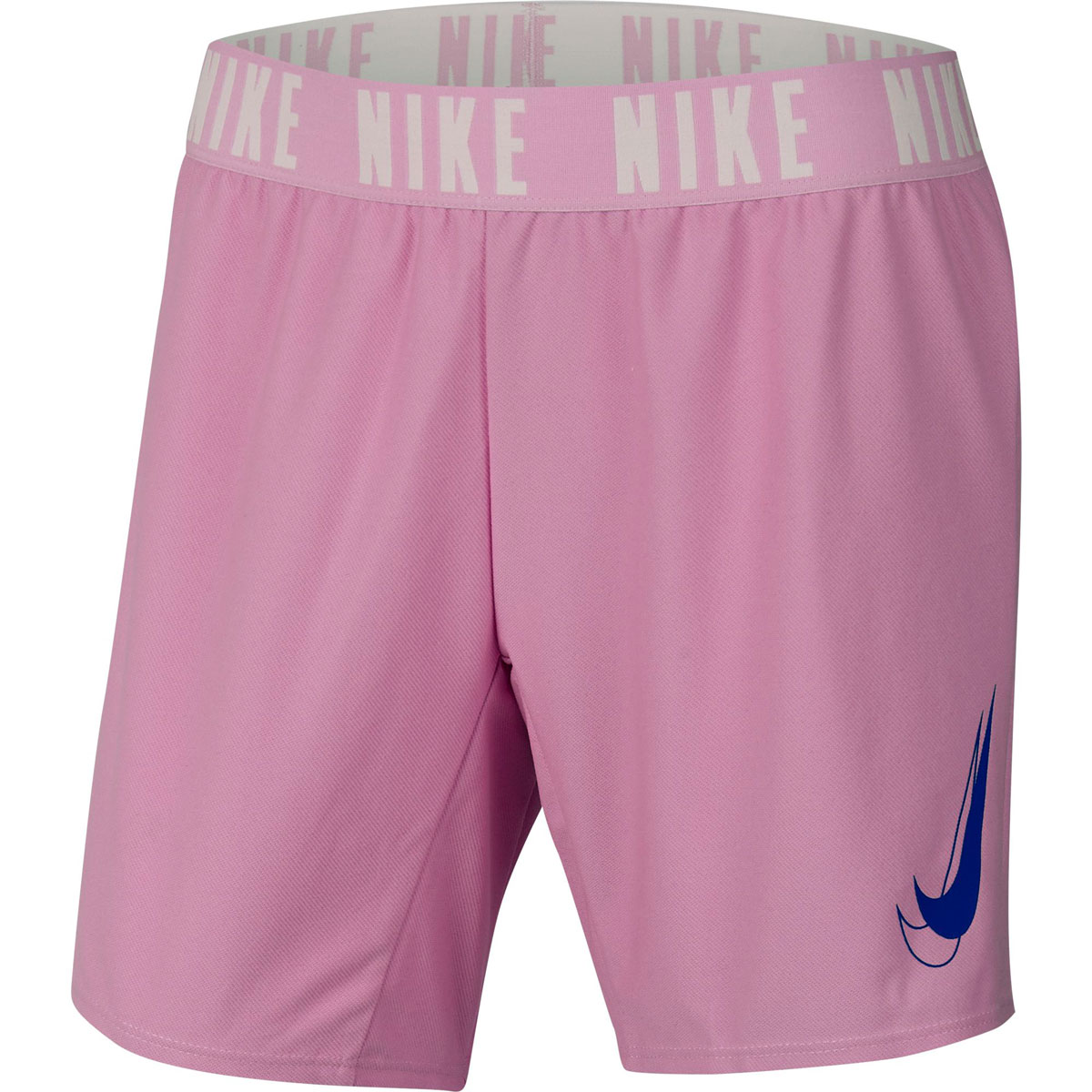 Girls' Dri-Fit Trophy Graphic Training Shorts, Pastel Pink,Theatrical, swatch