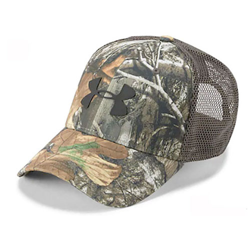 Men's Camo Mesh Cap 2.0, Camouflage Tree Bark, swatch