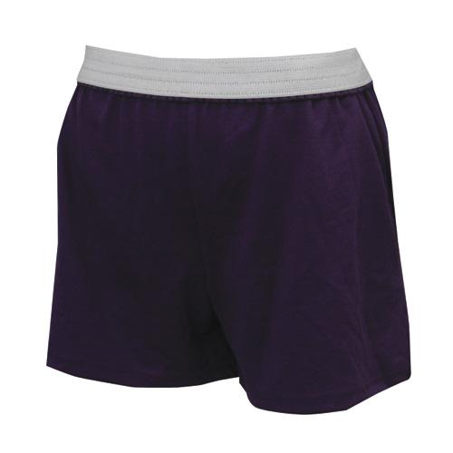 Women's Cheer Shorts, Purple, swatch