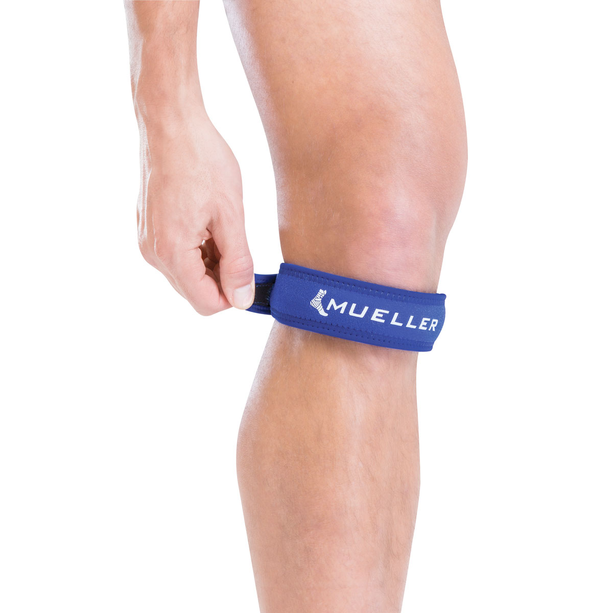 Jumper's Knee Strap, Blue, swatch
