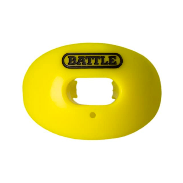 Oxygen Lip Protector Mouthguard, Neon Yellow, swatch