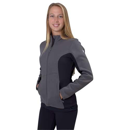 Women's Cora Full Zip Fleece, Charcoal,Smoke,Steel, swatch