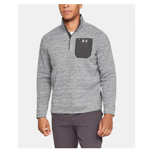 Men's Long Sleeve Specialist Henley 2.0 Fleece, Charcoal,Smoke,Steel, swatch