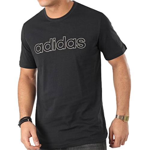Men's Esstentials Short Sleeve Tee, Black, swatch
