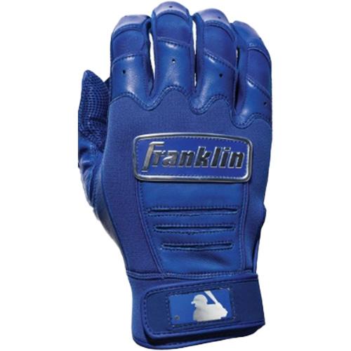 Men's MLB CFX Chrome Batting Gloves, Royal Bl,Sapphire,Marine, swatch