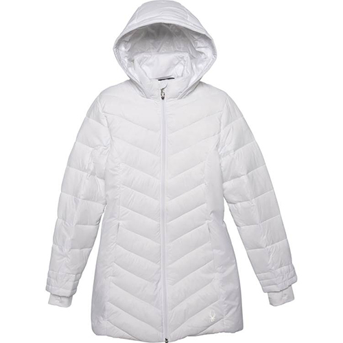 Women's Boundless Long Jacket, White, swatch