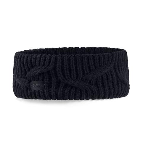 Women's Around Town Headband, Black, swatch