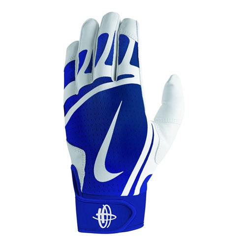 Youth Huarache Edge Batting Glove, Royal Bl,Sapphire,Marine, swatch