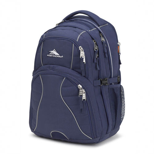 Swerve Backpack, Navy, swatch