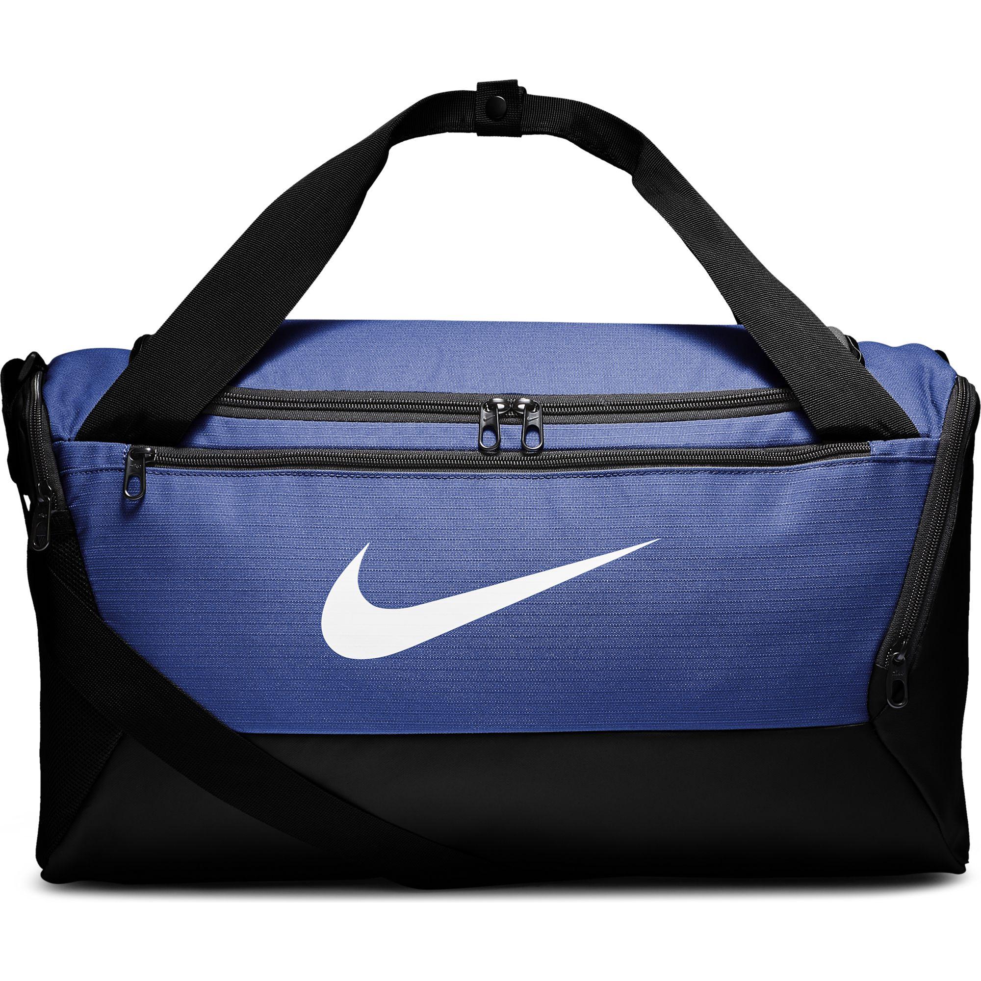 Brasilia Small Training Duffell Bag, Royal Bl,Sapphire,Marine, swatch