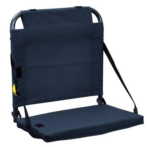 Bleacher Back Stadium Seat, Navy, swatch