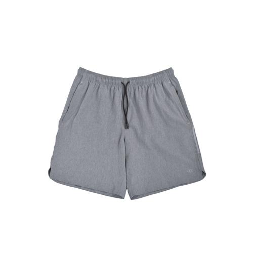 Men's Woven Shorts, Black/Gray, swatch