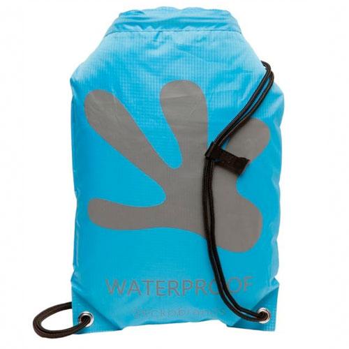 Waterproof Backpack, Blue/Gray, swatch