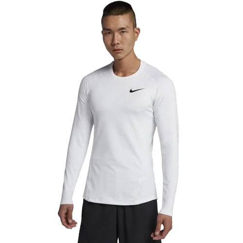 Men's Pro Therma Cold Compression Long Sleeve Shir, White, swatch