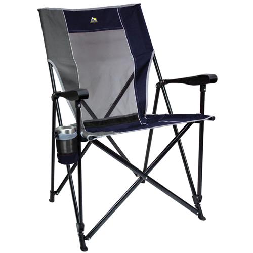 Easy Folding XL Camping Chair, Indigo, swatch