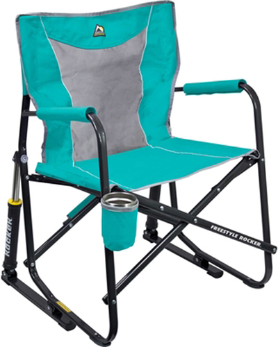 Freestyle Collapsible Rocker, Lt Green,Mint,Fern,Seafom, swatch