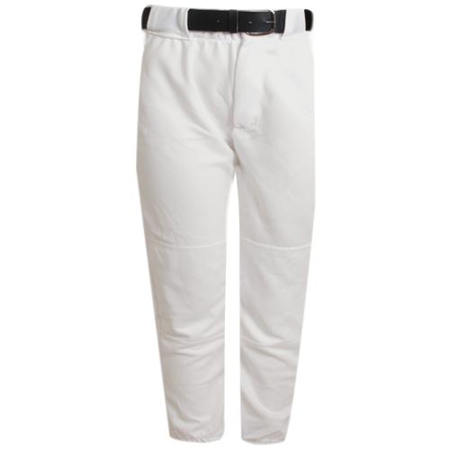 Adult Tunnel Belt Loop Baseball Pants, White, swatch