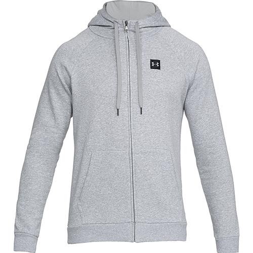 Men's Rival Fleece Full-Zip Hoodie, Charcoal,Smoke,Steel, swatch