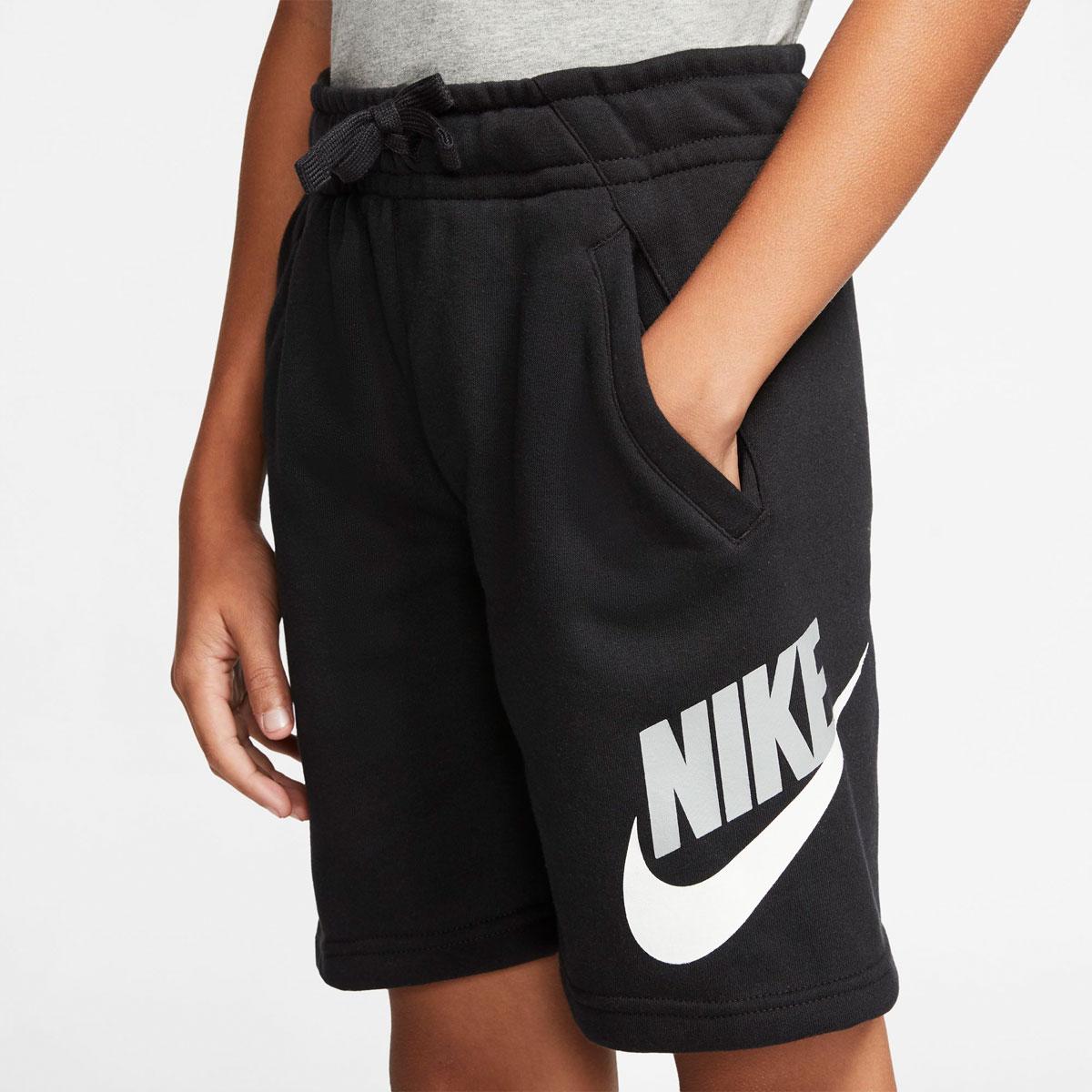 Boys' Sportswear Club Fleece Shorts, Black, swatch