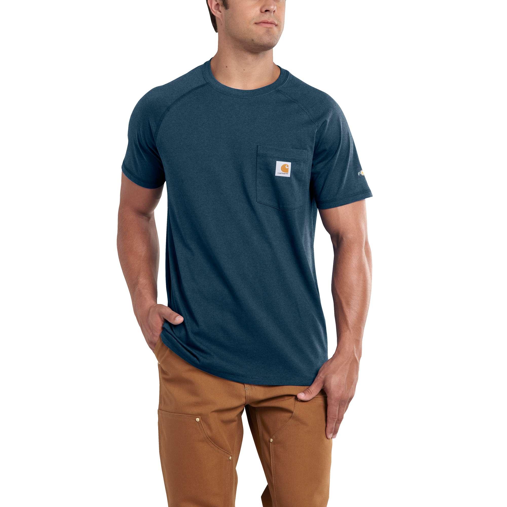Men's Force Delmont Short Sleeve T-Shirt, Lt Blue,Powder,Sky Blue, swatch