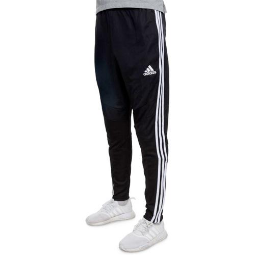 Men's Tiro Soccer Pants, Black/White, swatch