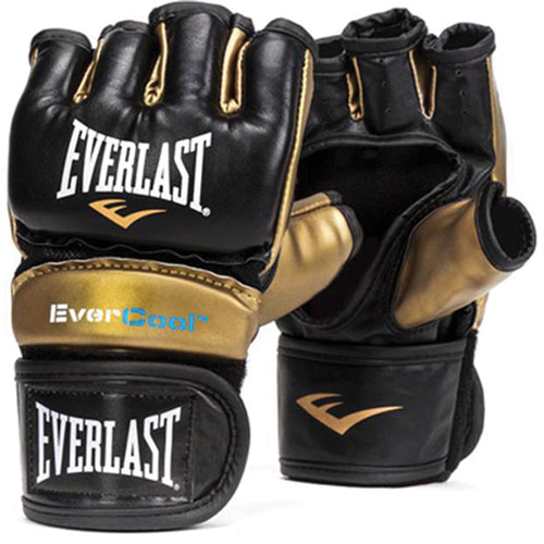Everstrike Training Gloves, Black/Gold, swatch